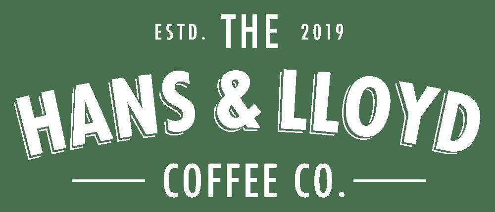 Hans Lloyd Coffee Co Logo White Copy
